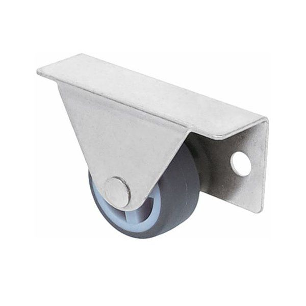Bettkastenrolle 30 mm Kastenrolle Möbelrolle Seitenrolle Gummi Rad