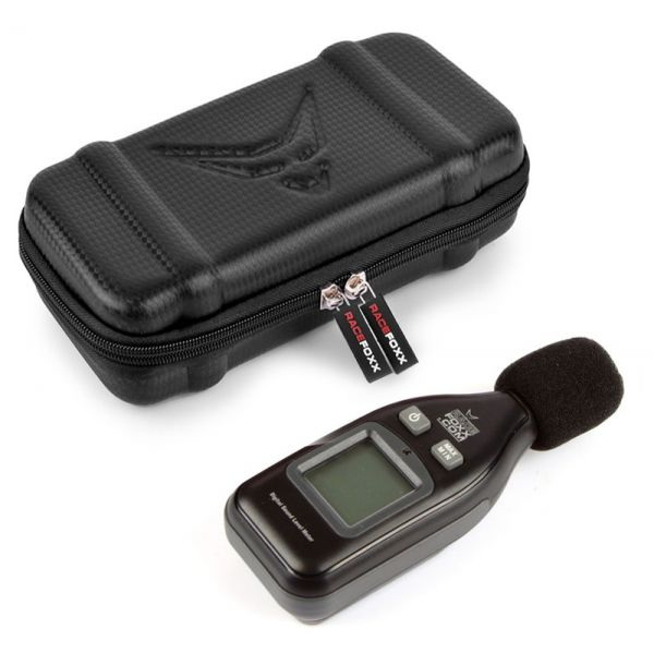 RACEFOXX Digitale dB Messgerät Prüfer Geräuschmessung 30 - 130 dbA