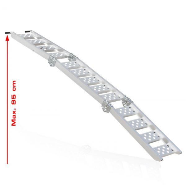 Auffahrrampe Verladeschiene Schiene Rampe Motorradrampe kompakt faltbar