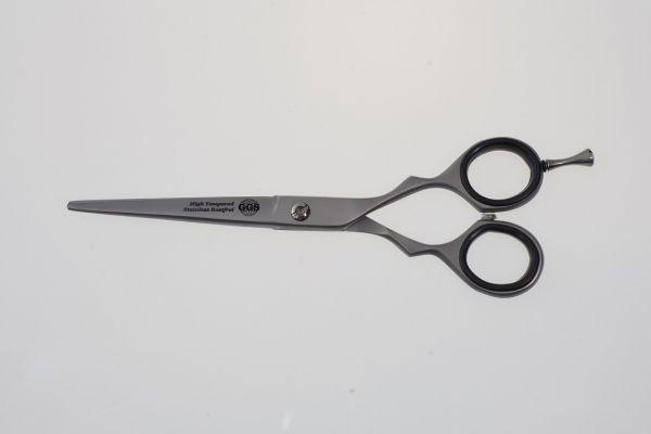 Profi Haarschere Friseur Coiffeur 15 cm Edelstahl silbermatt