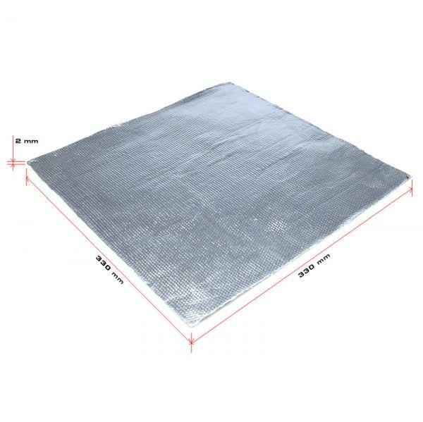 Hitzeschutz Auflage Kevlar selbstklebend Hitzedämmung 33x33 cm 350 Grad