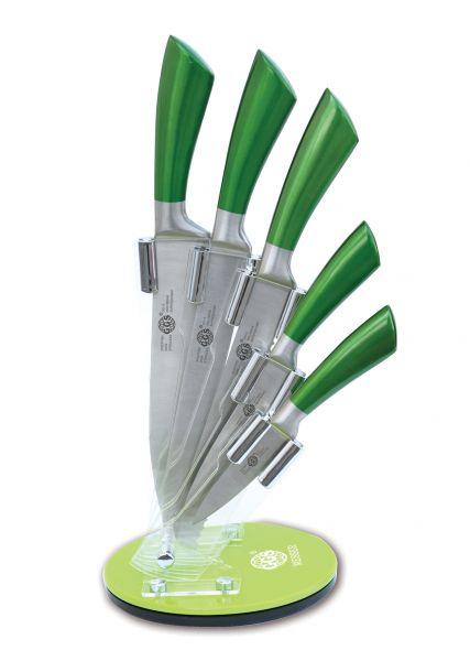 6-teiliges Messerset Küchenmesser Schälmesser Messer Kochmesser Gemüsemesser Set