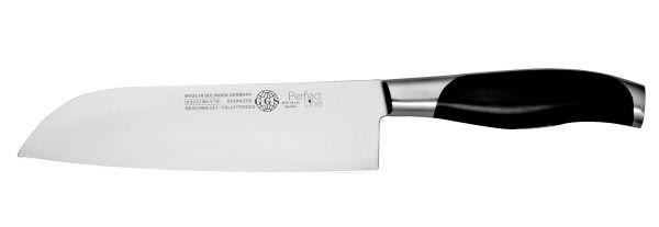 Santoku Messer 18 cm Kochmesser Küchenmesser Edelstahl Qualität MADE IN SOLINGEN