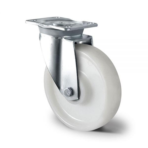 Schwerlastrollen Polyamid 200mm Transportrollen Lenkrolle Bockrolle Bremse Rolle