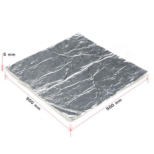 Hitzeschutz Auflage Kevlar selbstklebend Hitzedämmung 50x50 cm 500 Grad