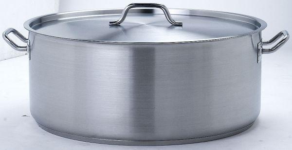 18/10 Edelstahl Profi Gastro Kochtopf (50cm x 20cm) 40 Liter Industrie