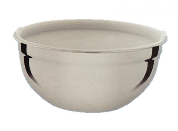 Schüssel mix bowl 24cm hoch aus Edelstahl mit Kunststoff Deckel