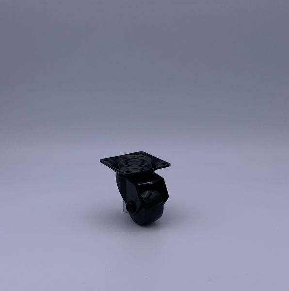 Designer Möbelrollen schwarz 35 mm Lenkrollen Bremsrollen Transportrollen ROBBY