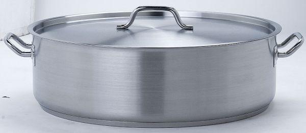 18/10 Edelstahl Profi Gastro Braten Kochtopf (50cm x 15cm) 32 Liter