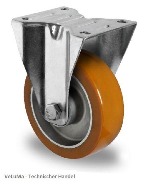Schwerlastrollen Polyurethan Rad 100 mm Transport Rolle Bockrolle