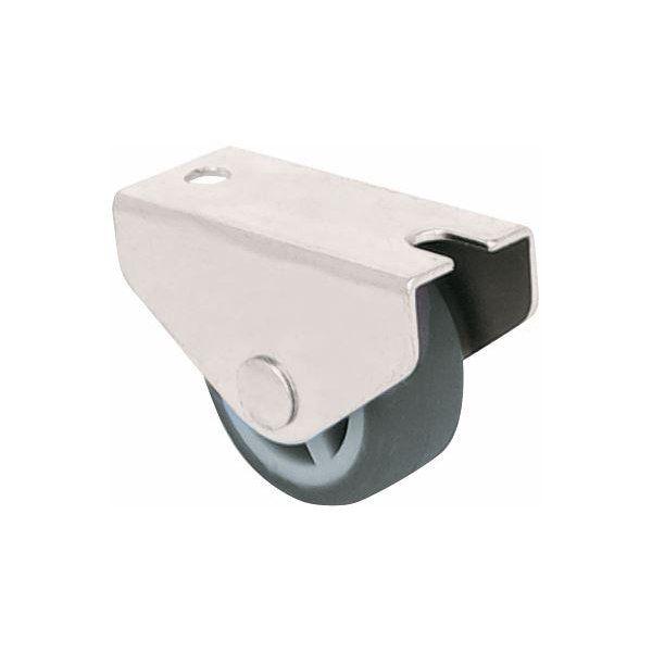 Bettkastenrolle 30 mm Kastenrolle Möbelrolle Kastenbockrolle Gummi Rad