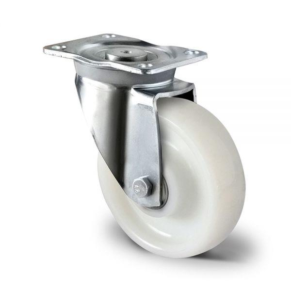 Schwerlastrollen 160mm Polyamid Transportrollen Lenkrolle Bockrolle Bremse Rolle